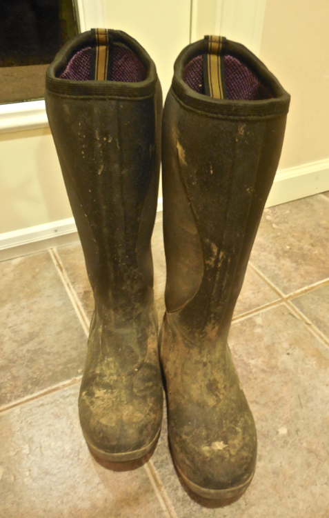 THESE NEW MUCK BOOTS FIT LIKE A GLOVE (if that is possible)! They