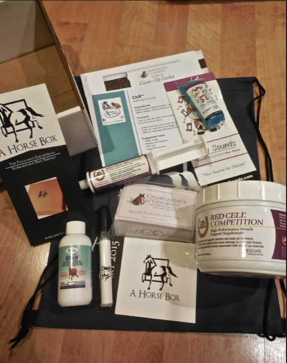 This is what was in my box!  Very exciting.  I knew when I saw the Omega Alpha products, I was in good company!