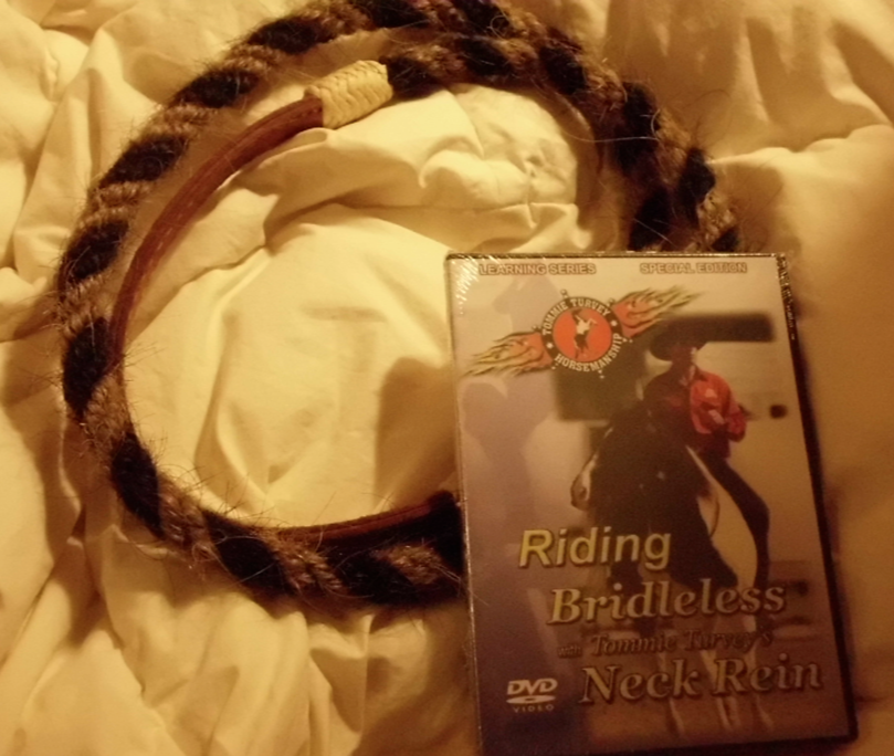My Tommie Turvey neck ring arrived WITH the DVD I hadn't ordered!  Yay!  And, i don't know why... but I'm glad!