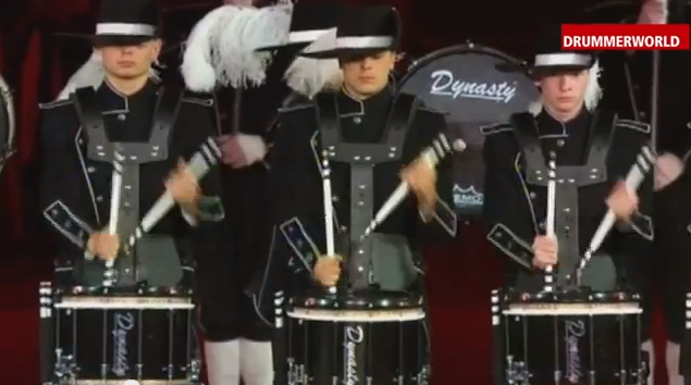 The Swiss Top Secret Drum Corp - very, very inspiring.