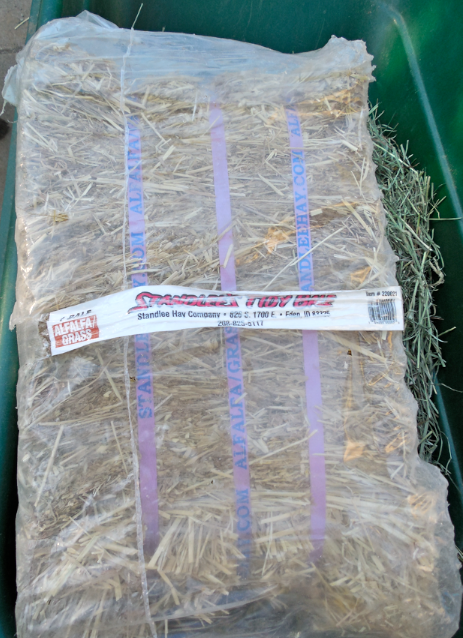 This is a compressed bale.